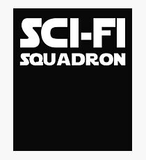 Funny Sci Fi Squadron Print.  Photographic Print