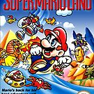 Super Mario Land, restauriertes Retro-Gaming-Poster von 7hunters