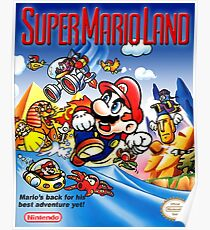Super Mario Land, restauriertes Retro-Gaming-Poster Poster