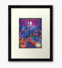 Tetris Box Art Poster Framed Print