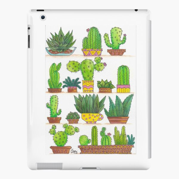 Succulents and Cacti iPad Snap Case