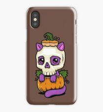 Pumpkitten iPhone Case/Skin