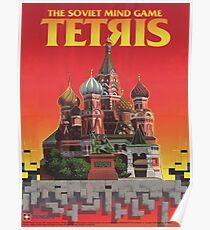 Tetris, Restoration of Original Game Poster, from Nintendo Power  Poster