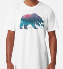 Camiseta larga Bear Country