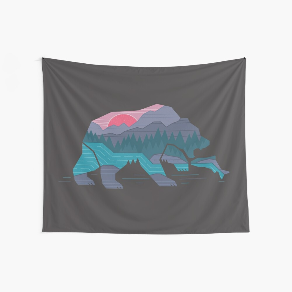 Bear Country Wall Tapestry