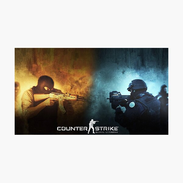 Csgo CT vs T Photographic Print