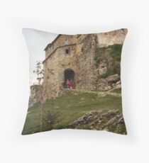 The Romance of Gressa Throw Pillow