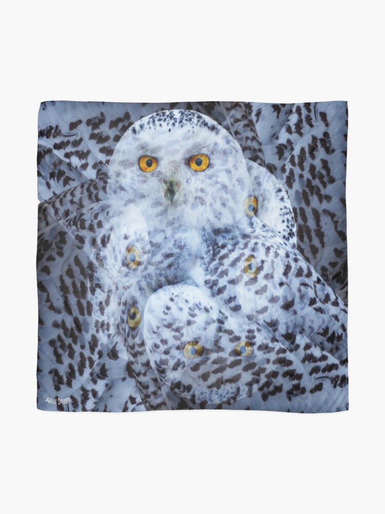 Alternate view of Designs Inspired By Nature: Snowy Owl Scarf