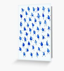 Rain Dance Greeting Card