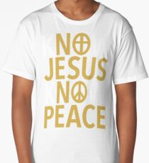 Know Jesus Know Peace Long T-Shirt