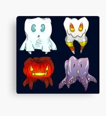 Spoopy Molars Canvas Print