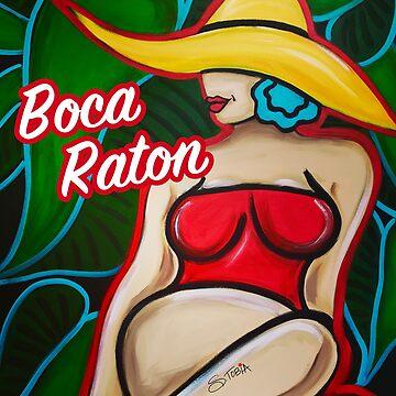 Strand Baby Boca Raton von Susantobiaart