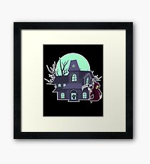 Haunted House Framed Print