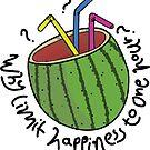 Watermelon Fishbowl by hollybrooker4rt