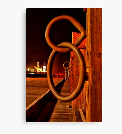 """""""Rings and Things"""" Canvas Print"""