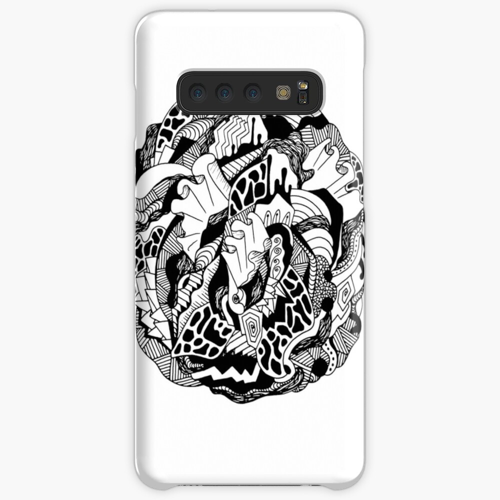 Abstract Wave of Thoughts 1 Case & Skin for Samsung Galaxy