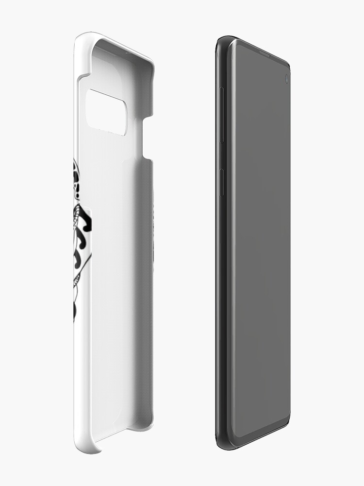 Alternate view of Abstract Wave of Thoughts 1 Case & Skin for Samsung Galaxy