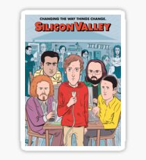 Silicon Valley Season 4 Sticker
