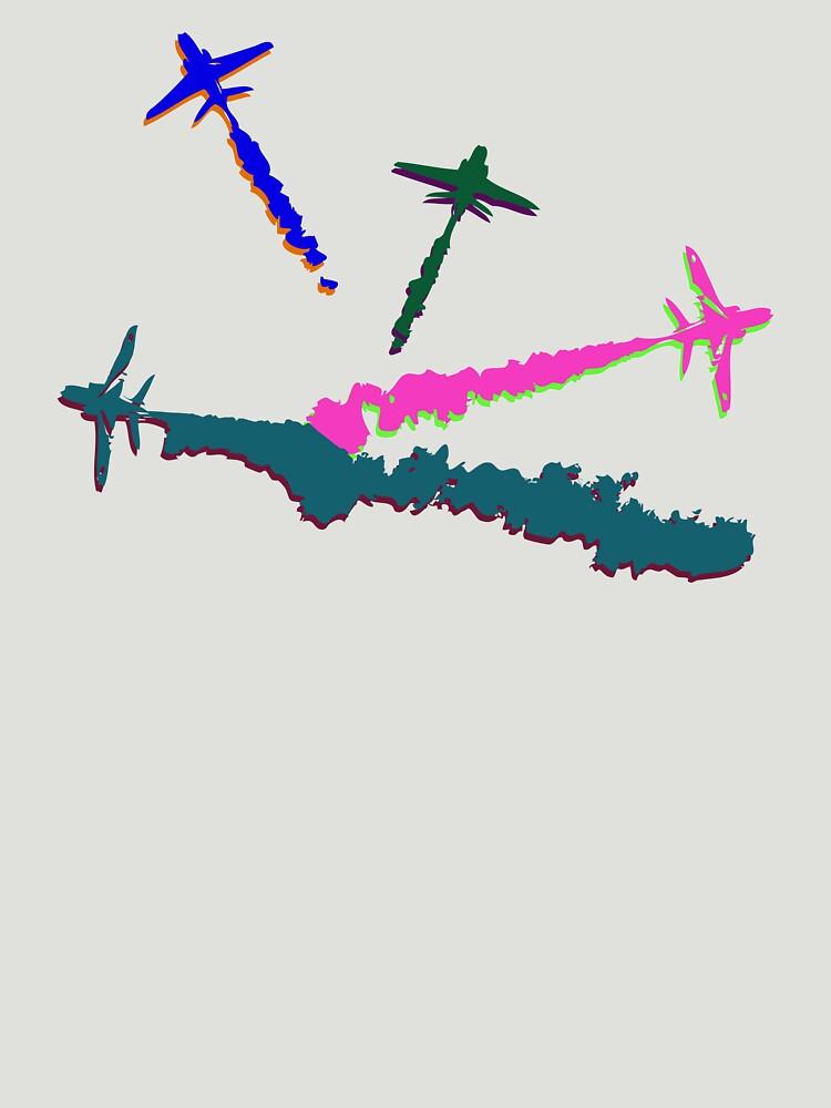 Technicolour Arrows by TeeArt