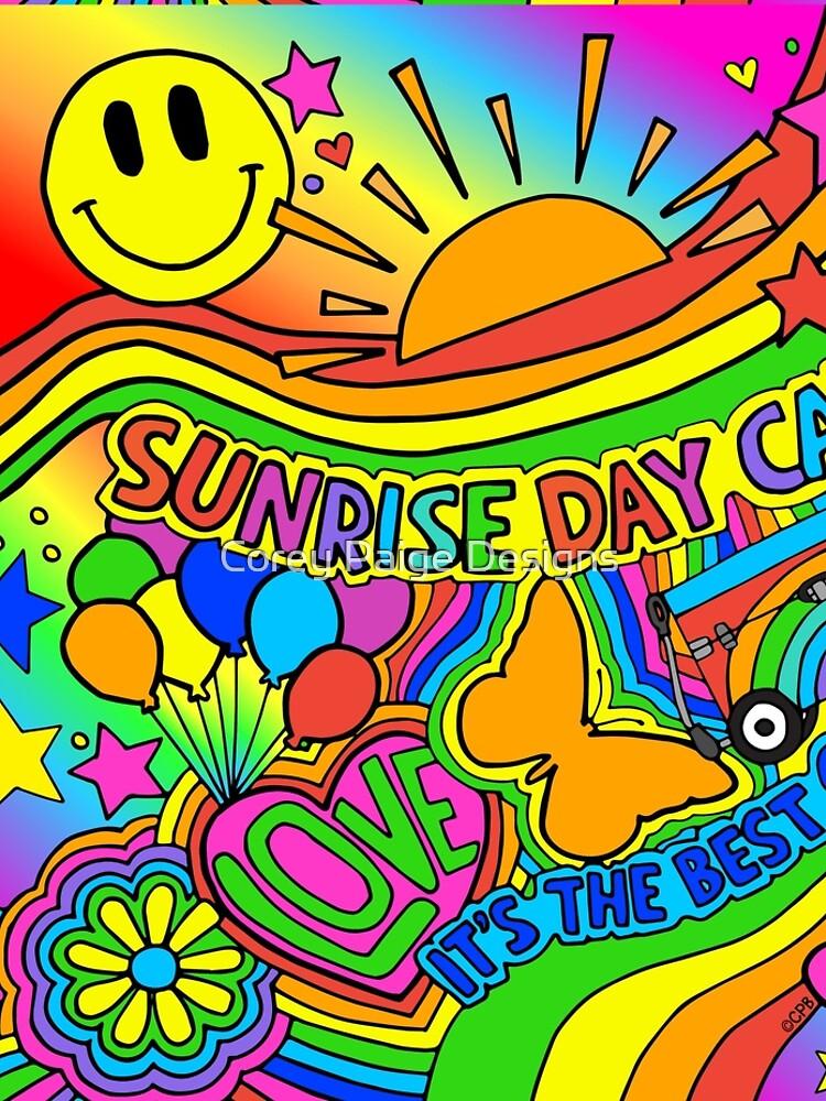 Sonnenaufgang Tag Camp von Corey-Paige