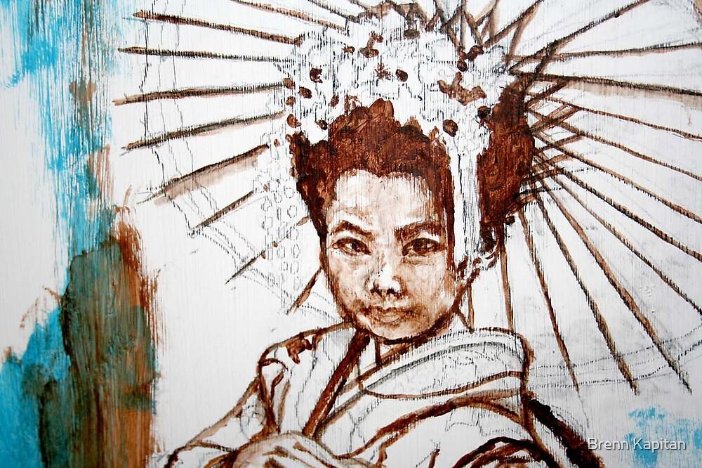 Close up of Oriental Splender by Brenn Kapitan