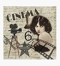 Vintage Cinema Photographic Print