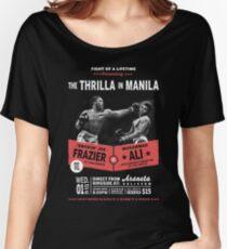 Ali vs Frazier - Thrilla in Manila Women's Relaxed Fit T-Shirt
