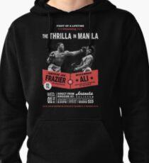 Ali vs Frazier - Thrilla in Manila Pullover Hoodie