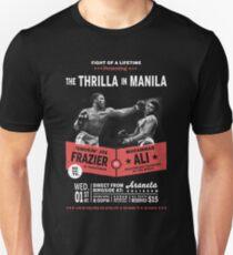Ali gegen Frazier - Thrilla in Manila Slim Fit T-Shirt