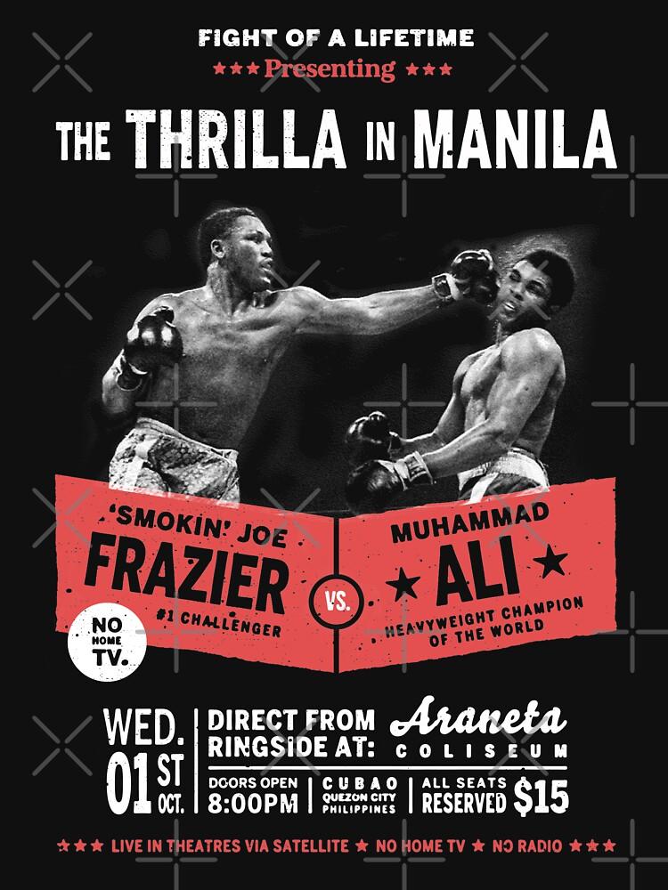 Ali vs Frazier - Thrilla in Manila by TeeMonsters