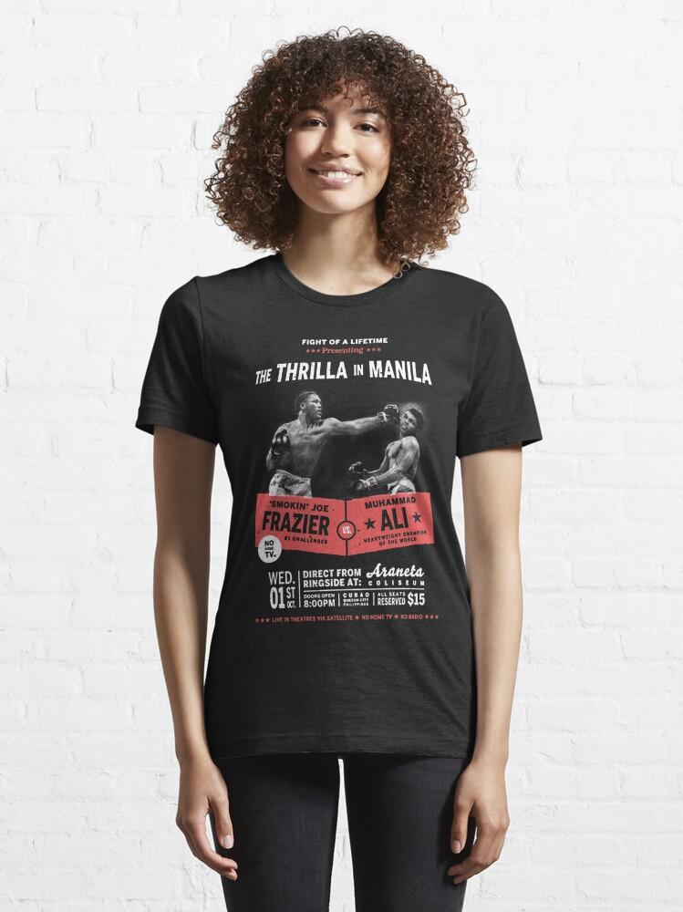 Alternate view of Ali vs Frazier - Thrilla in Manila Essential T-Shirt