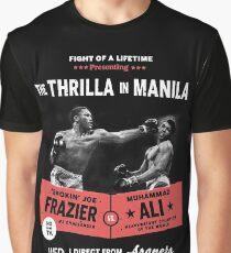 Ali vs Frazier - Thrilla in Manila Graphic T-Shirt