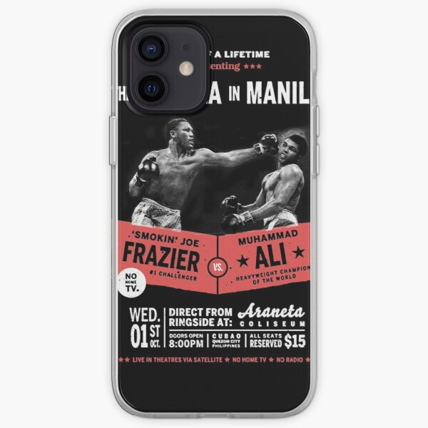 Ali vs Frazier - Thrilla in Manila iPhone Soft Case