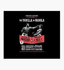 Ali vs Frazier - Thrilla in Manila Photographic Print