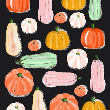 Pumpkin Love Black by muktalata-barua