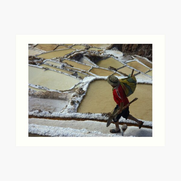 Hard work - Peru Impression artistique