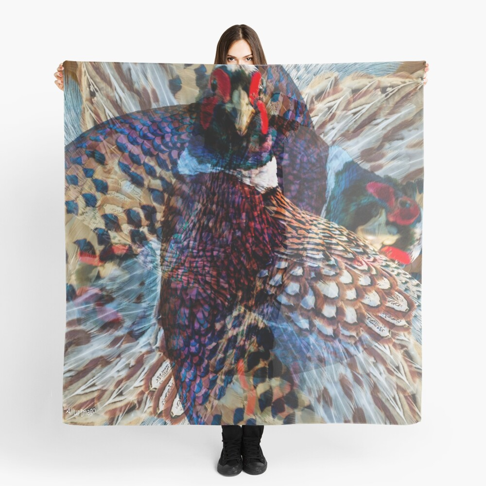 Designs Inspired By Nature: Wild Pheasant Scarf