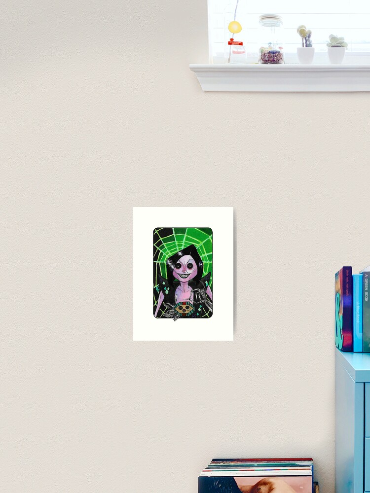 Villain Clans Other Mother From Coraline Art Print By Emilytabet Redbubble