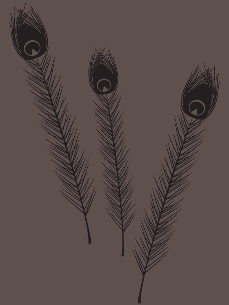 Peacock Feathers by MiniMumma