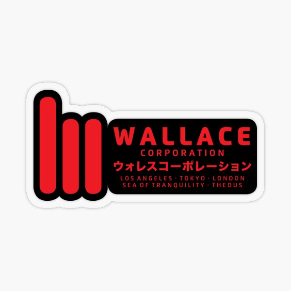 Wallace Corporation Transparent Sticker