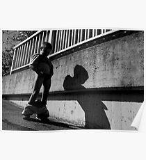 A Boy and his shadow Poster