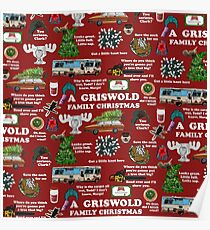 Christmas Vacation Collage Poster
