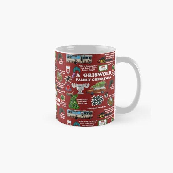Christmas Vacation Collage Classic Mug
