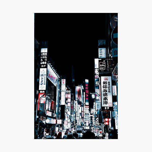 Kabukicho's Signs Photographic Print
