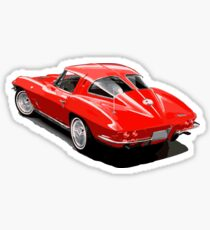Corvette Sticker