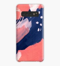 Pink Abstraction Case/Skin for Samsung Galaxy