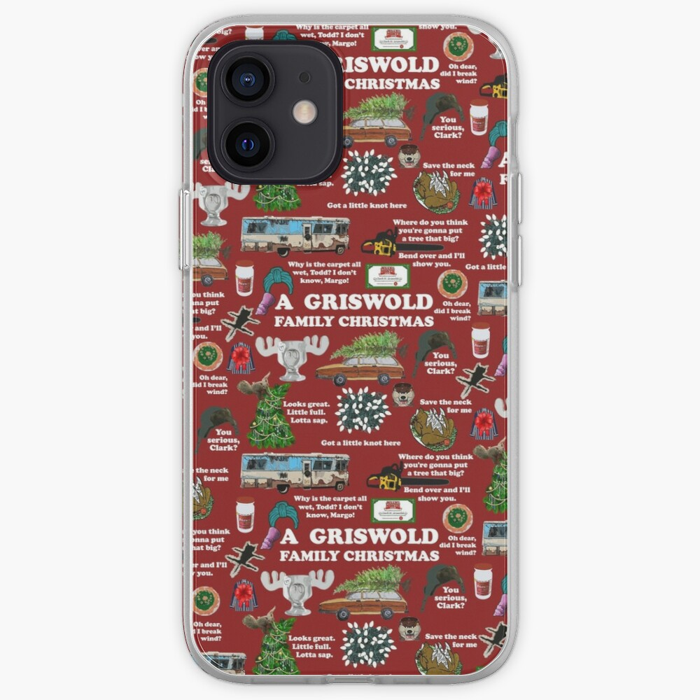 Christmas Vacation Collage iPhone Case & Cover
