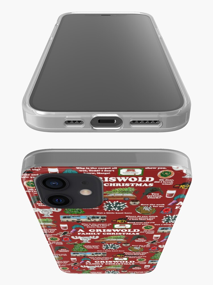 Alternate view of Christmas Vacation Collage iPhone Case & Cover