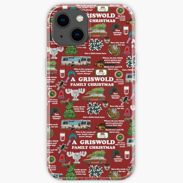 Christmas Vacation Collage iPhone Soft Case