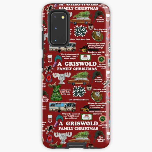 Christmas Vacation Collage Samsung Galaxy Tough Case